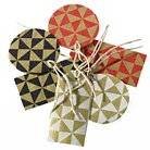 Nepal Handmade Gift Tags - Multi-Colored (6 Count)