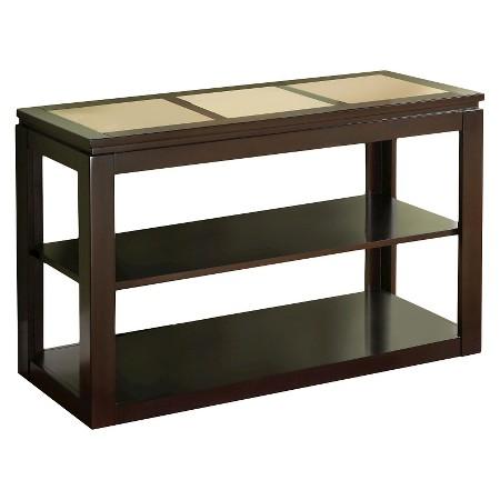 Richmond contemporary sofa table espresso furniture of for Furniture of america sofa table