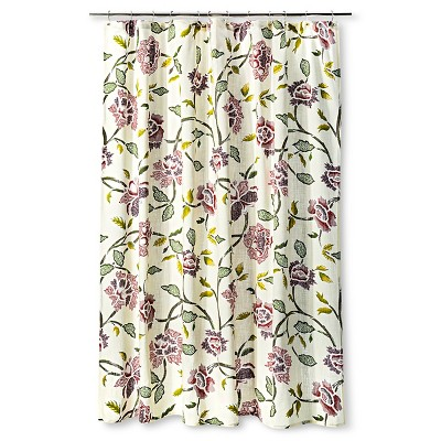 Threshold™ Shower Curtain - Floral Multi