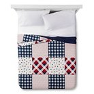 Americana Patchwork Quilt Red - Threshold™