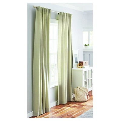 Threshold™ Curtain Panel Linen-Look