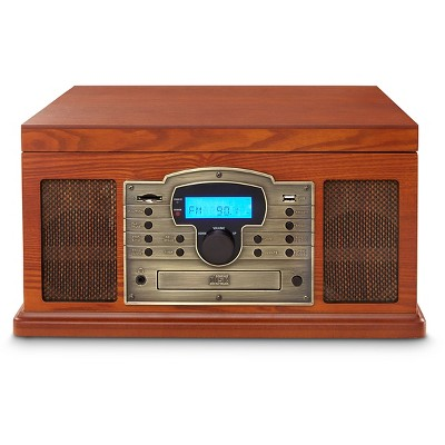 Crosley Troubadour USB Entertainment Center - Paprika (CR7002A-PA)