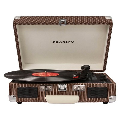 Crosley Cruiser Portable Turntable - Tweed (CR8005A-TW)
