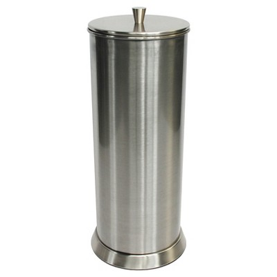 Canister Freestanding Toilet Tissue Holder Reserve Brushed Nickel 88 Main