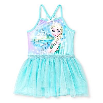 Frozen Elsa Baby Girls' Tutu Dress - Green 12M