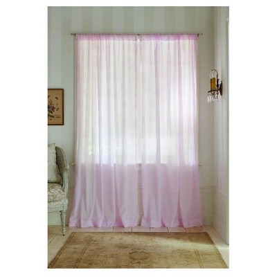 Simply Shabby Chic® Sheer Window Panel Rose Print