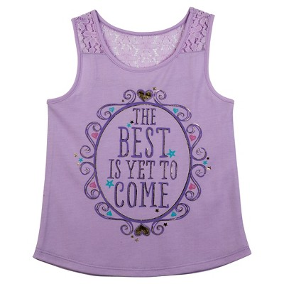 Baby Girls' Best Is Yet To Come Tank Top - Purple 12M
