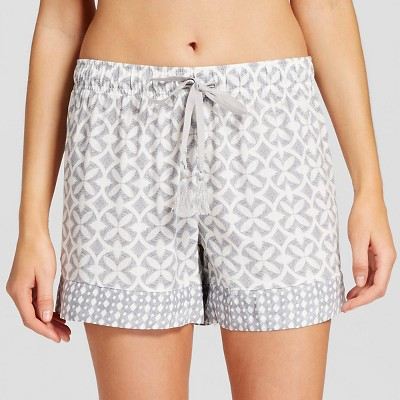 Women's Sleepwear Printed Short Gray M - Gilligan & O'Malley™