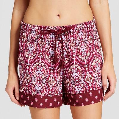 Women's Sleepwear Printed Short Red XXL - Gilligan & O'Malley™