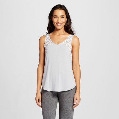 Women's Pajama Top Printed Gray Print XS - Gilligan & O'Malley™