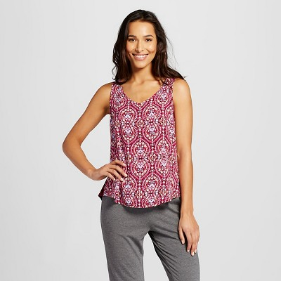 Women's Pajama Top Printed Berry Scroll Print XXL - Gilligan & O'Malley™