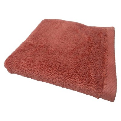 Nate Berkus™ Washcloth - Wave Light Red