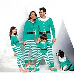 Elf Family Pajama Collection
