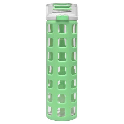 Ello Syndicate Glass Water Bottle - Strobe Green