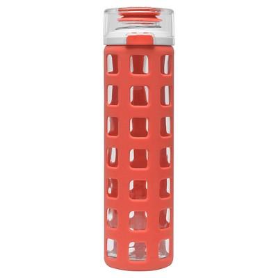Ello Syndicate 20oz Glass Water Bottle - Georgia Peach