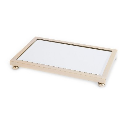 West Emory™ Mirrored Plate - Gold