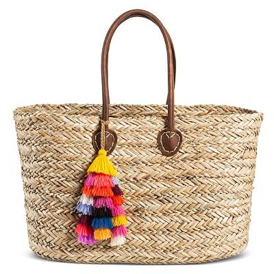 Women's Straw Tote Handbag-Merona™