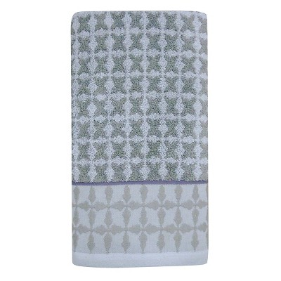 Threshold™ Bath Towel - Tile Grey/Purple