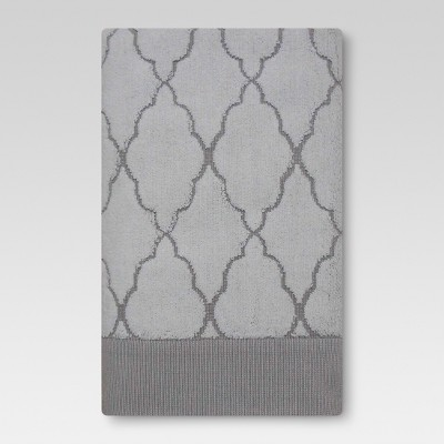 Threshold™ Bath Towel - Ogee Grey/White