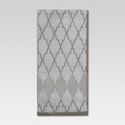 Threshold™ Hand Towel - Ogee Grey/White