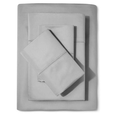 Supima Classic Hemstitch Sheet Set 700 Thread Count (King) Skyline Gray - Fieldcrest™