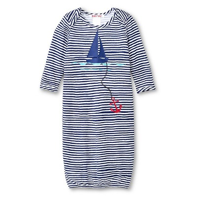 Nightgowns Baby Nay 0-3 M Sailor Blue