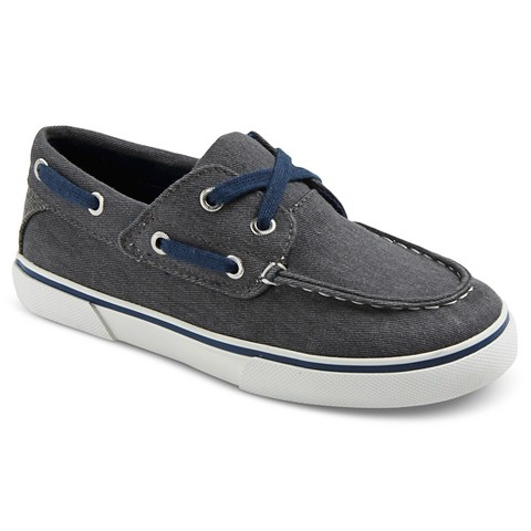 boys felix canvas boat shoes grey 174 target