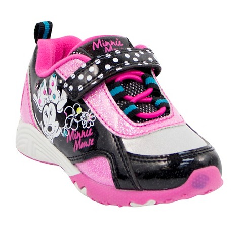 toddler minnie mouse sneakers black target