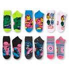 Marvel™ Women's Low-Cut Socks Marvel Superheroes 6-Pack - Multi-Colored 9-11