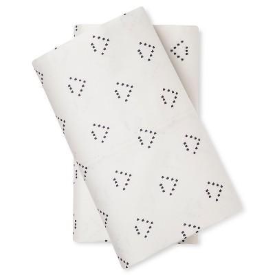 Pillow Case Set Dotted Triangle (Standard) - Nate Berkus™