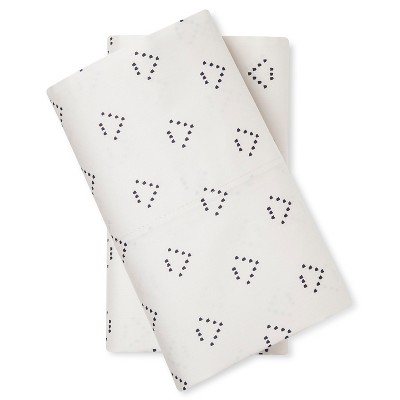 Pillow Case Set Dotted Triangle (King)  - Nate Berkus™