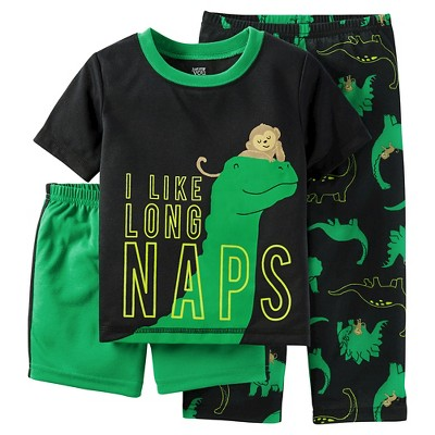 Just One You™ Made by Carter's® Baby Boys' 2-Piece Dinosaur Pajama Set Green 12M