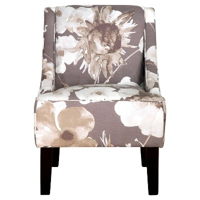 Hudson Swoop Arm Chair - Driftwood - Threshold™