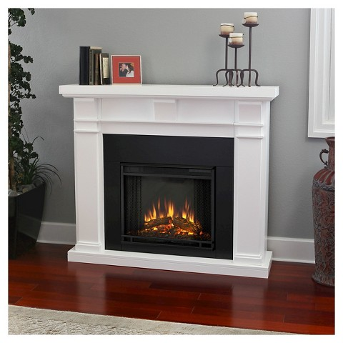 Real Flame Porter Electric Fireplace White Target