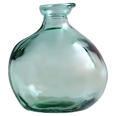 Vase Recycled Glass 7.09in