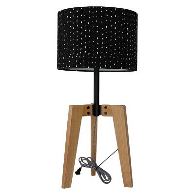 Threshold™ Wood Table Lamp black shade