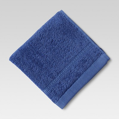 Threshold™ Botanic Washcloth - Blue Monday