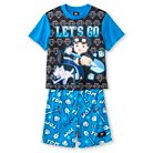 Tube Heroes Boys' 2-Piece Pajama Set-Blue-XS
