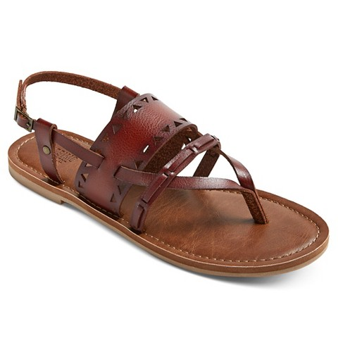 Excellent Women39s Leather Sandals Gt Dark Brown Flat Thong Sandals For Women