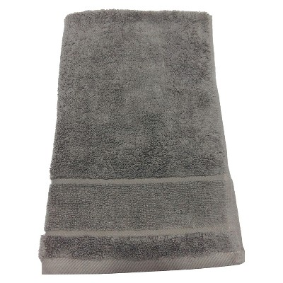 Organics Hand Towel Grey Stone - Threshold™