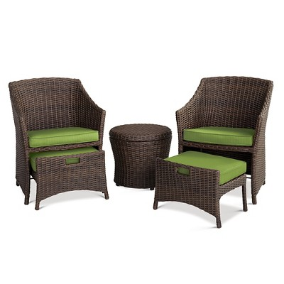 Belvedere 5-Piece Chat Set Green - Threshold™