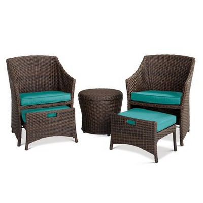 Belvedere 5-Piece Chat Set Turquoise - Threshold™