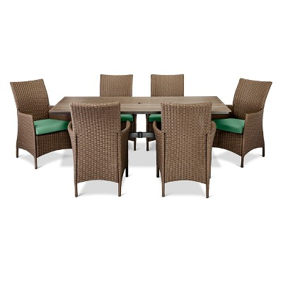 Heatherstone7pc Dining Set- Seafoam - Threshold™