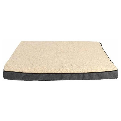 "Woolrich™ XLarge Ortho Gusset Pet Bed - Ebony, Radiant Gray (40"" x 30"" x 3"")"
