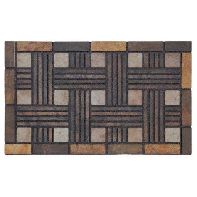 """Mohawk Stone Weave Doormat - Brown (18""""x30"""")"""