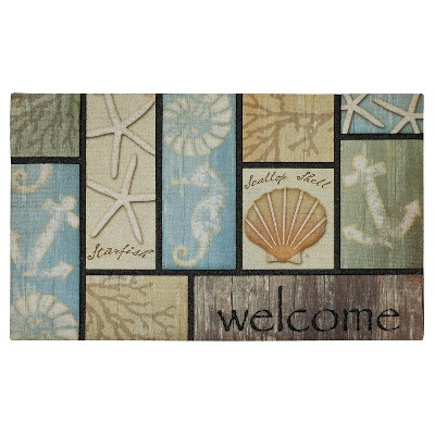 "Mohawk Driftwood Welcome Doormat - Multi-Colored (18""x30"")"
