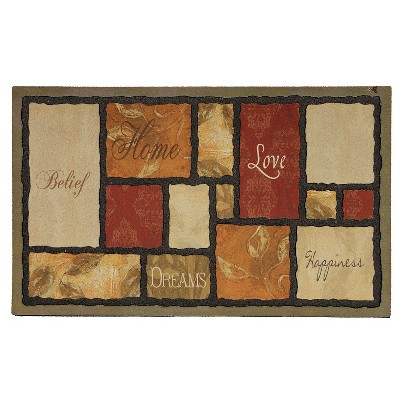 """Mohawk Tapestry Spice Doormat - Multi-Colored (18""""x30"""")"""