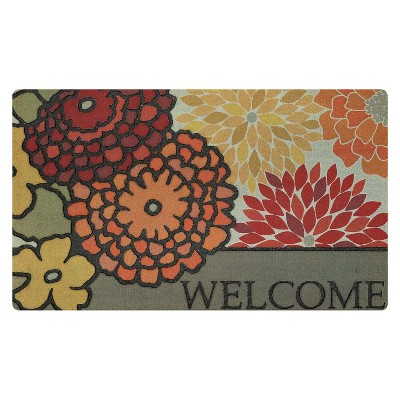 "Mohawk Modern Bouquet Spice Doormat - Multi-Colored (18""x30"")"
