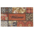 "Mohawk Floral in the Fall Welcome Doormat - Multi-Colored (18""x30"")"
