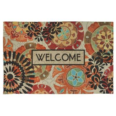 "Mohawk Eastern Suzani Doormat - Multi-Colored (23""x35"")"